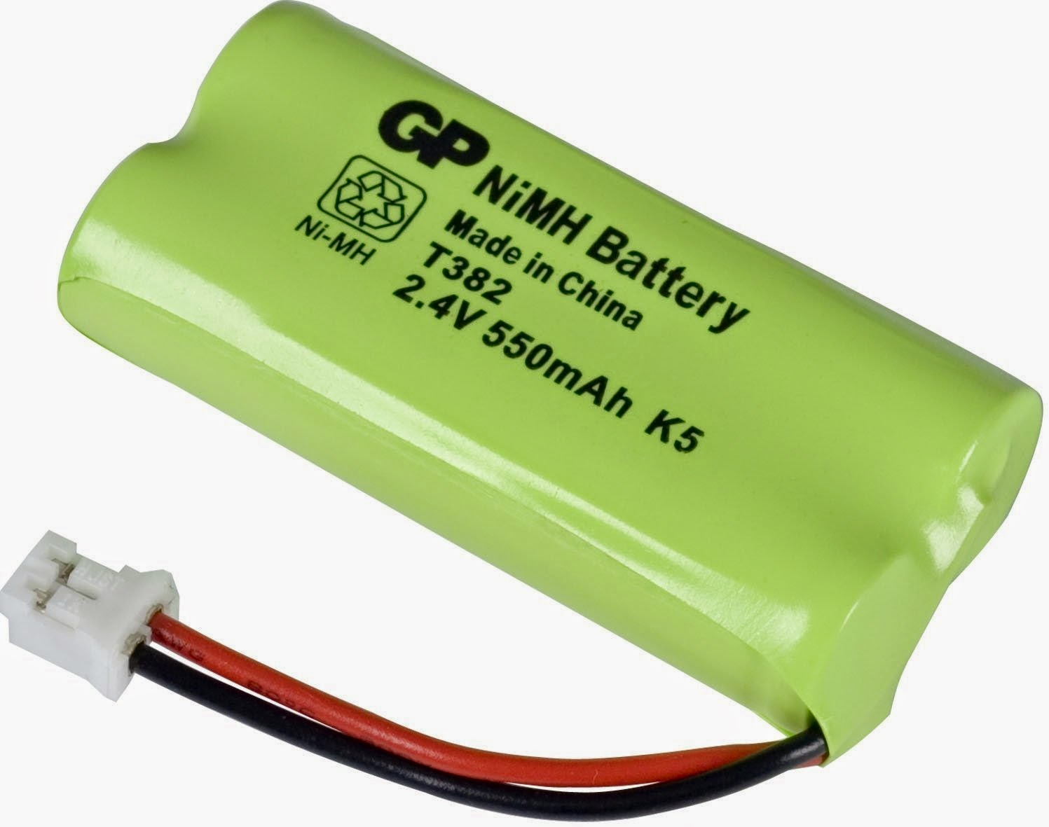 Accu Batterien Nimh 2 4v Gp Phone Battery Nimh 2 4v 550mah Accu T382